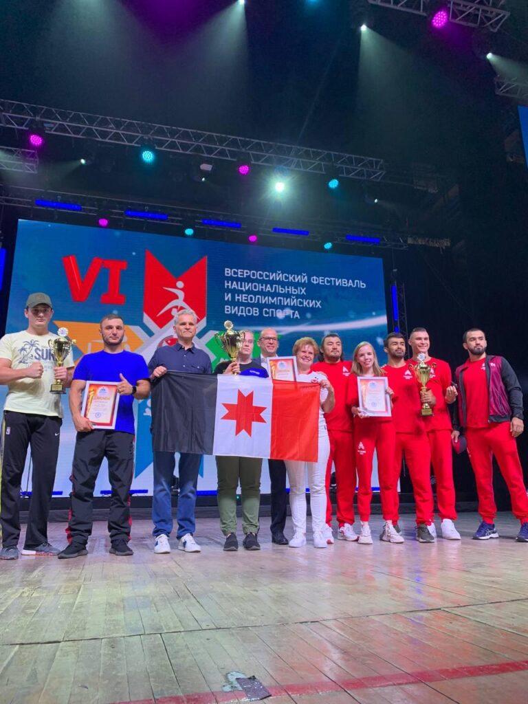 В Ижевске состоялся Кубок КННВС России по воздушно-силовой атлетике