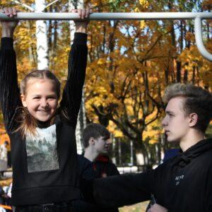 Тренировка от ФВСА Брянска